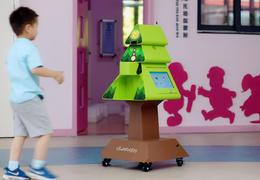 新品丨当晨检遇上智能机器人,3秒搞定幼儿全方位身体筛查!